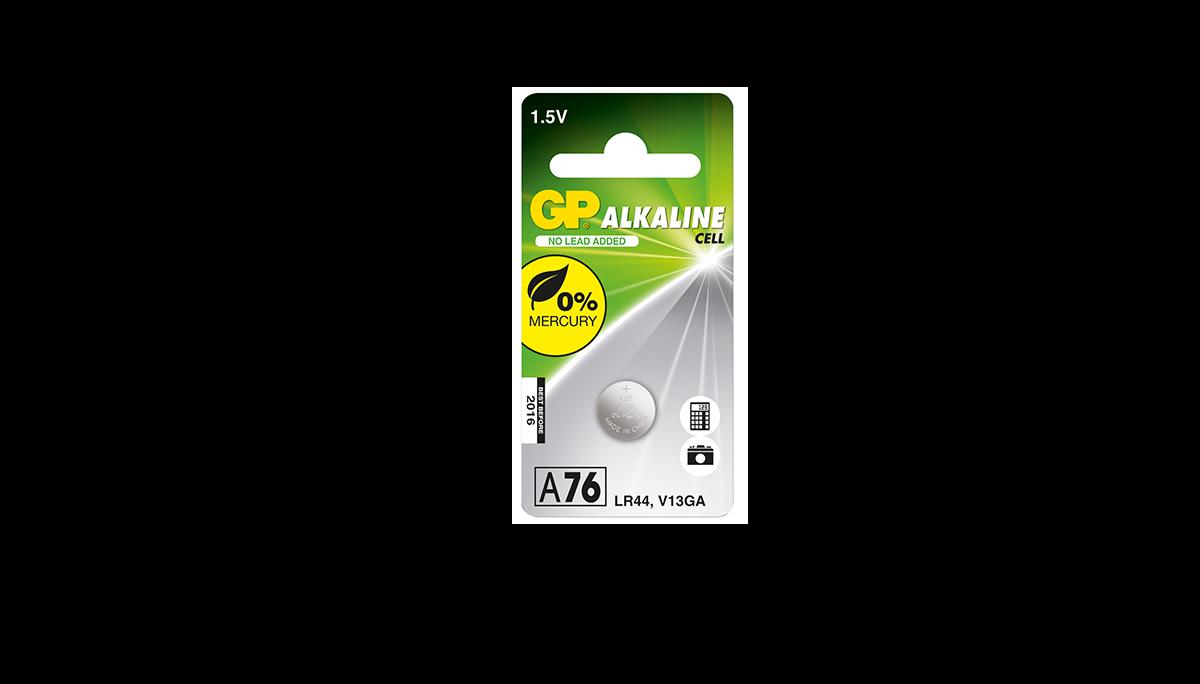LR44 - V13GA - KA76 ALCALINA 1.5V
