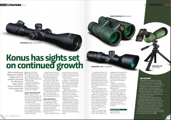 GUN TRADE WORLD - NOV. ISSUE