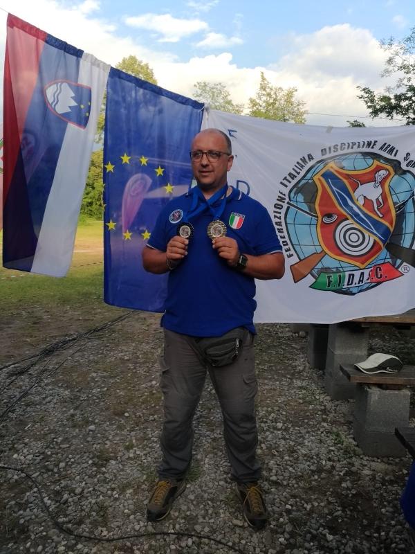 COSIMO VELELLA AL CAMPIONATO EUROPEO F.I.D.AS.C.
