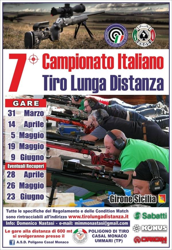 7 CAMPIONATO TIRO LUNGA DISTANZA